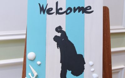 【ウェルカムボード編】素敵な結婚式がしたい!手作りウエディングで100万円節約したヒミツの方法!
