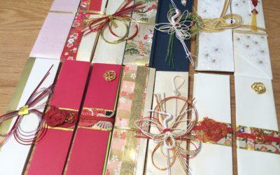 結婚式を終えて御祝儀袋を箸袋にリメイクしてみた!