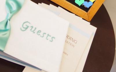 【芳名帳/ゲストブック編】素敵な結婚式がしたい!手作りウエディングで100万円節約したヒミツの方法!