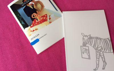 【口コミ編】結婚式を終えた友人にしまうまプリントで作ったフォトブックをプレゼントしてみた
