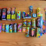 夏のキャンプにお得でオススメの打ち上げ花火と手持ち花火(大人向け)