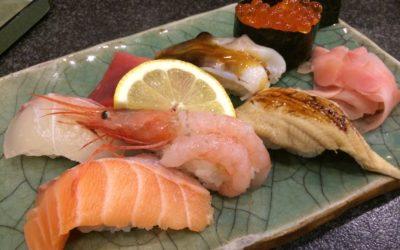 明石の樽屋町にある『大和』のお寿司は肉厚でコスパ最高