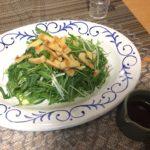 管理栄養士の週間献立:水菜とうすあげのパリパリサラダ