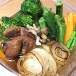 便利な作り置き!日本酒にあう野菜の焼き浸し(生姜風味)のレシピ