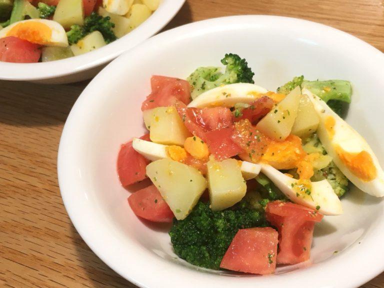 葉酸たっぷりブロッコリーの彩りサラダのレシピ